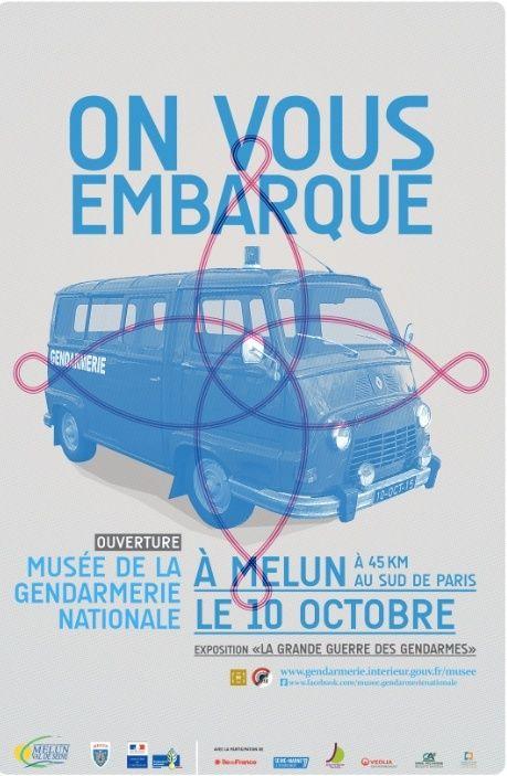 Ouverture du musée de la Gendarmerie à Melun (77) Octobr13