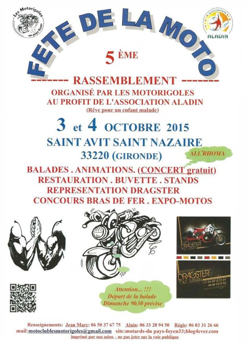 MANIFESTATION - 3 et 4 octobre st Avit St Nazaire 33 motorigoles 5éme fête de la moto Moto_r10