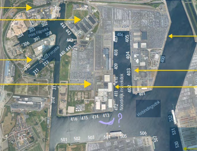 Réaménagement de la base navale de Zeebrugge Dock_p10