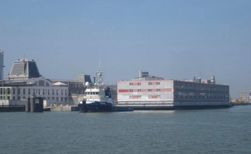 Réaménagement de l'accès par la mer au port d'Ostende Kalmar10
