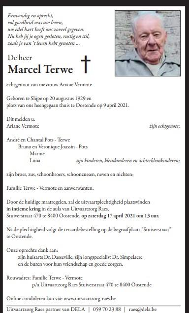 Déces - Overlijden (2) - Page 40 Marcel10