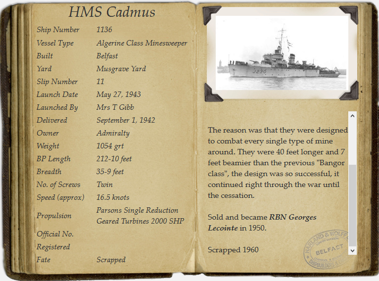 M901 Georges Lecointe (ex HMS Cadmus) - Page 7 Screen15