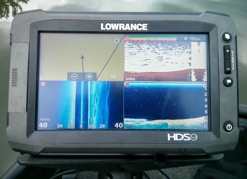 SONDEUR LOWRANCE HDS 9TOUCH GEN 2 Hds110