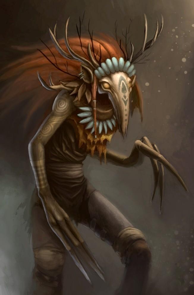 Description des Lieux et monstres présents Mortua10