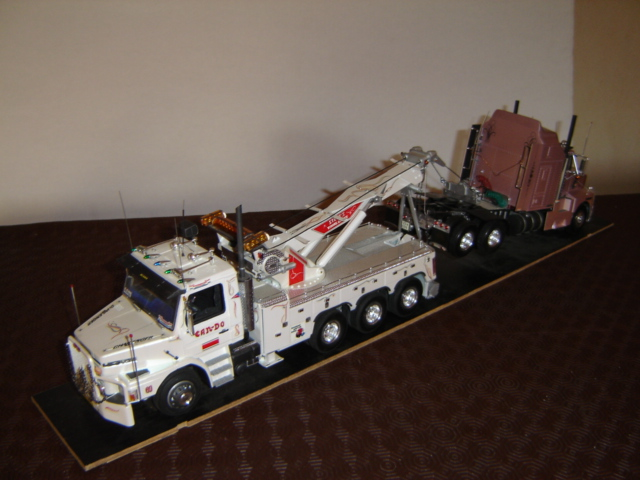 Dépanneuse PETERBILT WRECKER LONE STAR. Maquet12
