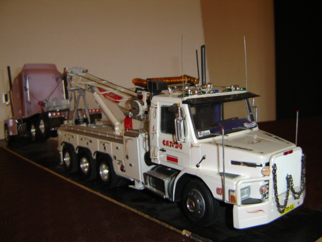Dépanneuse PETERBILT WRECKER LONE STAR. Maquet13