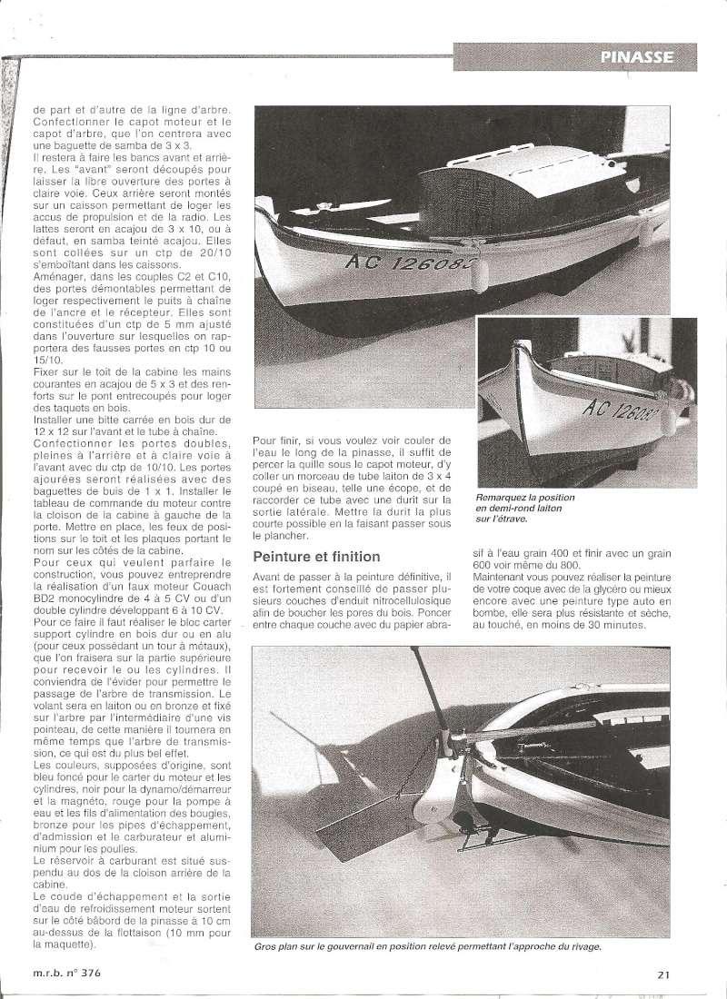 Pinasse du bassin d'Arcachon au 1/10ieme d'après plan bateau modèle de 1995 - Page 3 0210