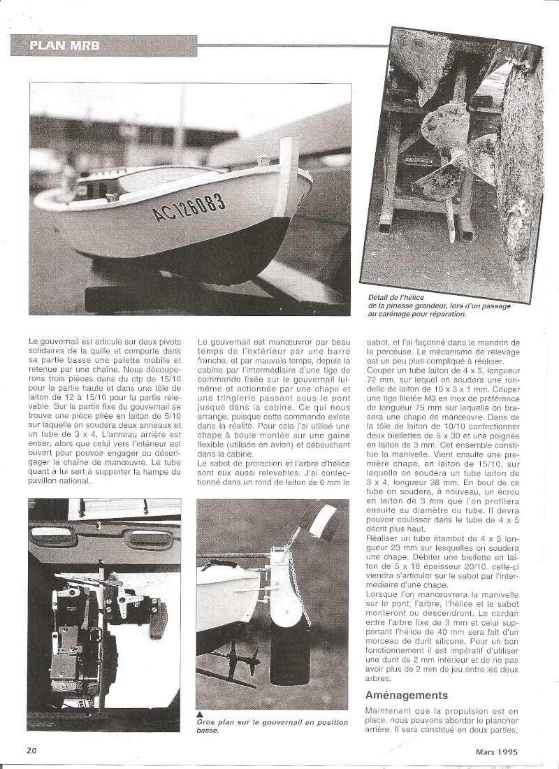 Pinasse du bassin d'Arcachon au 1/10ieme d'après plan bateau modèle de 1995 - Page 2 0310