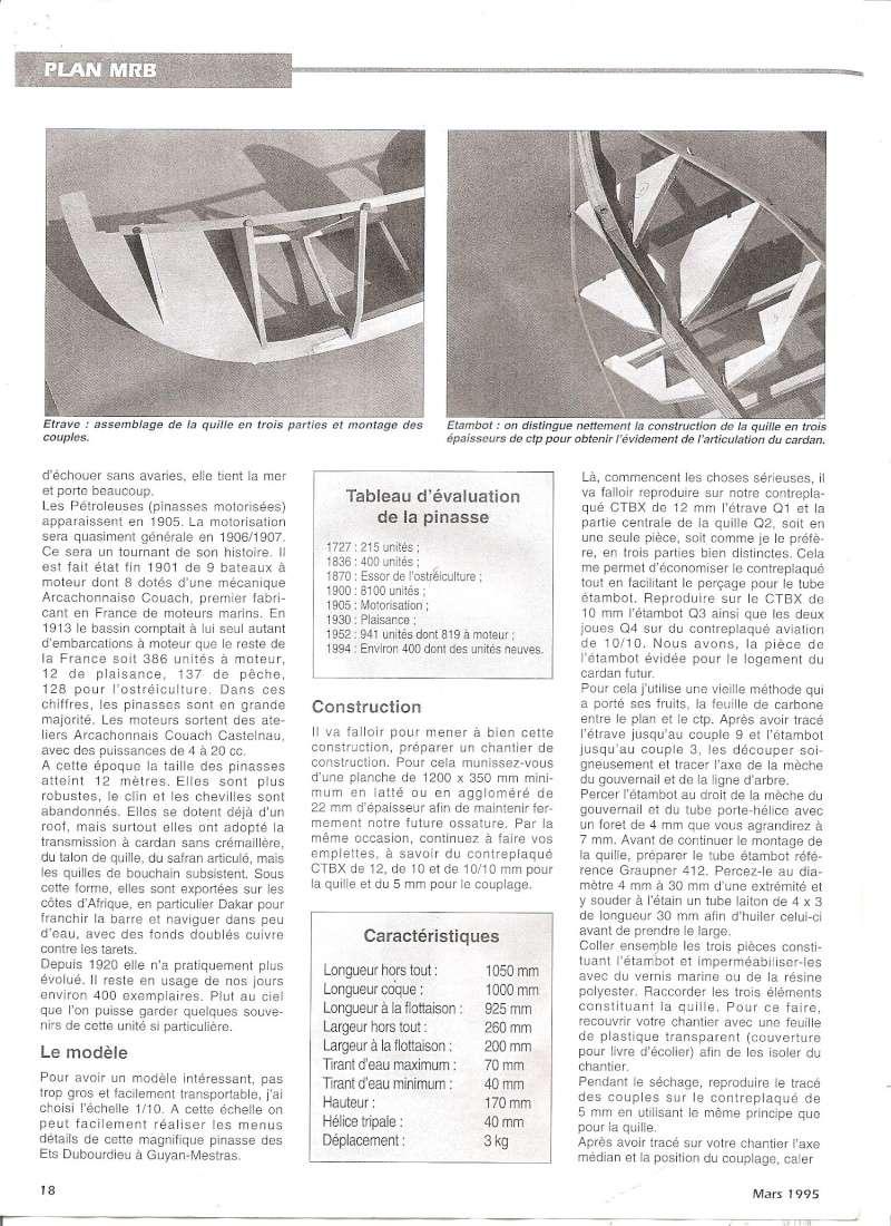 Pinasse du bassin d'Arcachon au 1/10ieme d'après plan bateau modèle de 1995 - Page 2 0510