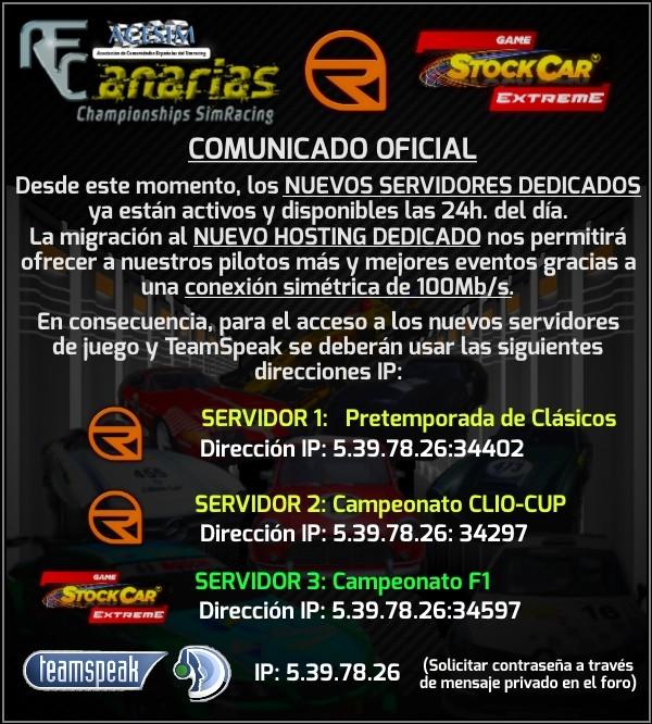 COMUNICADO DE ULTIMA HORA 35kmka10