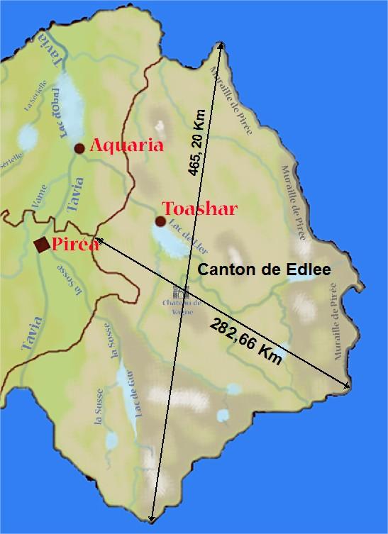 Géographie de Pirée. Canton12