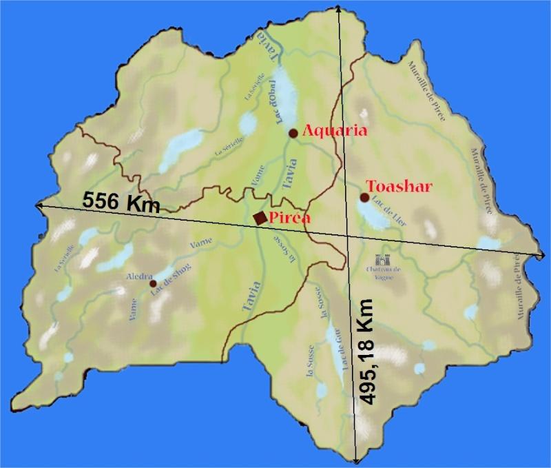 Géographie de Pirée. Dimens10
