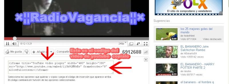 Como poner un video de youtube en tu blog y web (cambiar tamaño tambien) Tuto110