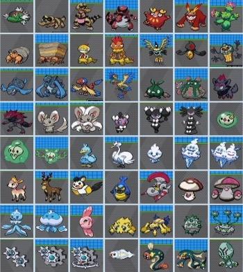 Les sprites des pokémons 12846611