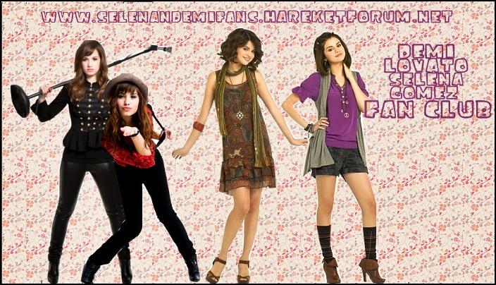 Selena Gomez Ve Demi Lovato Fan