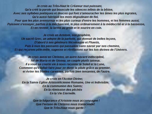 Exemples de credo Credo210