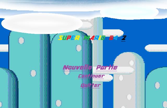 Super Mario 64 2 Partie 1 Titre110