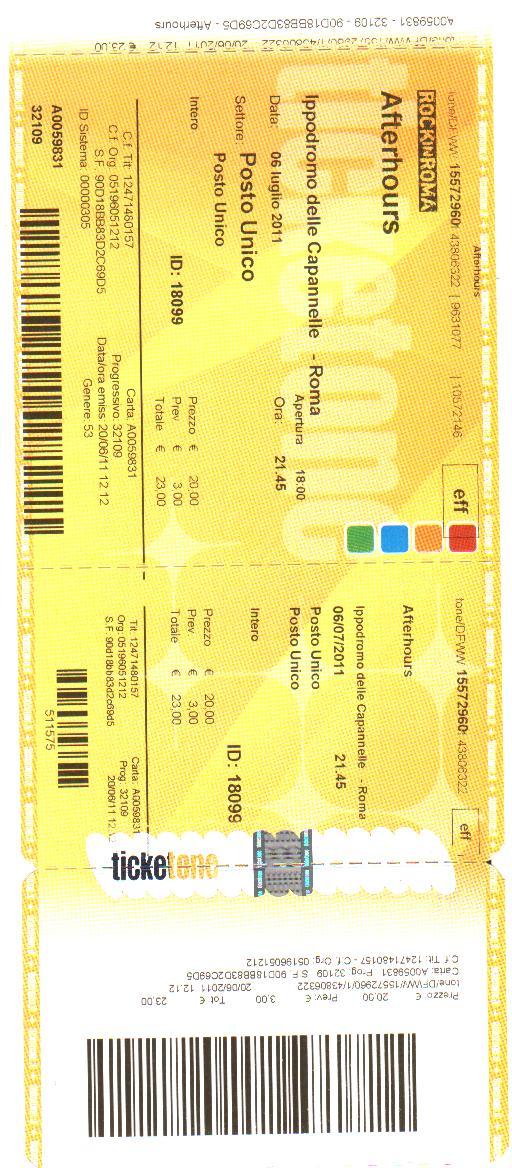 Rock in Roma 2011 Afterh14