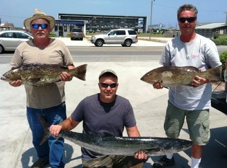 Topsail Fishing Report 6-1-2011 Kingng10