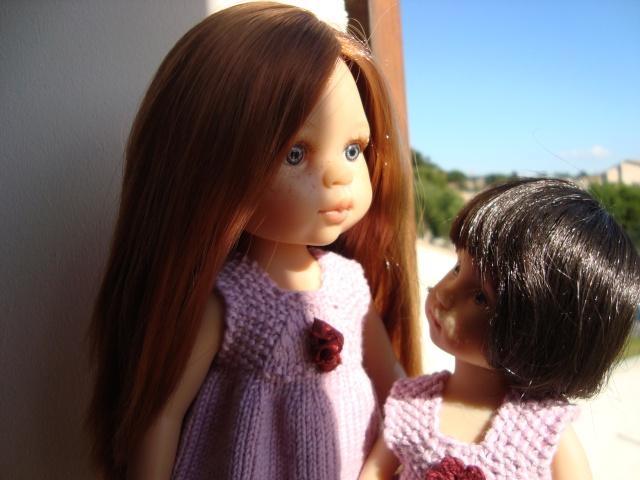 Malou étrenne ses tenues et elle accueille Fanny Dorian13