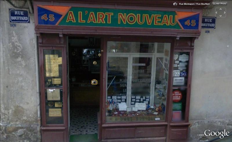 STREET VIEW : les façades de magasins (France) Artnou10