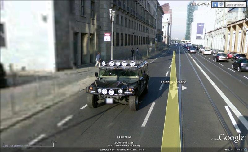 Street View : Véhicules 4X4 Hummer10