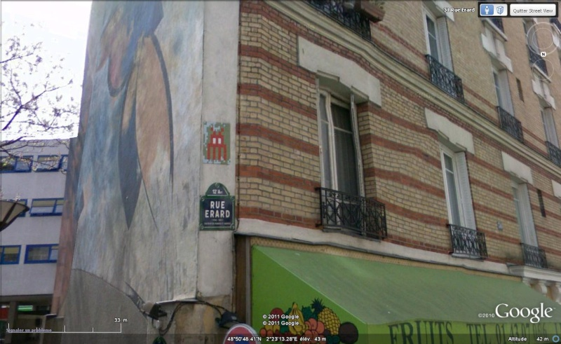 STREET VIEW : l'invasion des Spaces Invaders Inva110