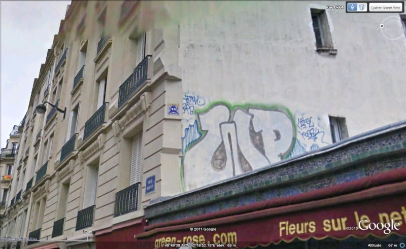 STREET VIEW : l'invasion des Spaces Invaders Inva2210