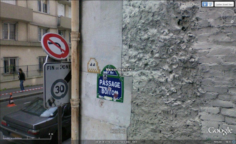 STREET VIEW : l'invasion des Spaces Invaders Inva2410