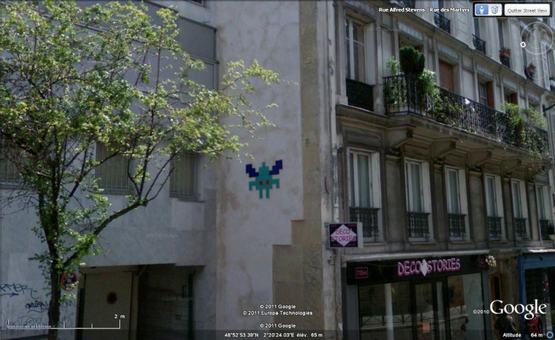 STREET VIEW : l'invasion des Spaces Invaders - Page 2 Inva4812