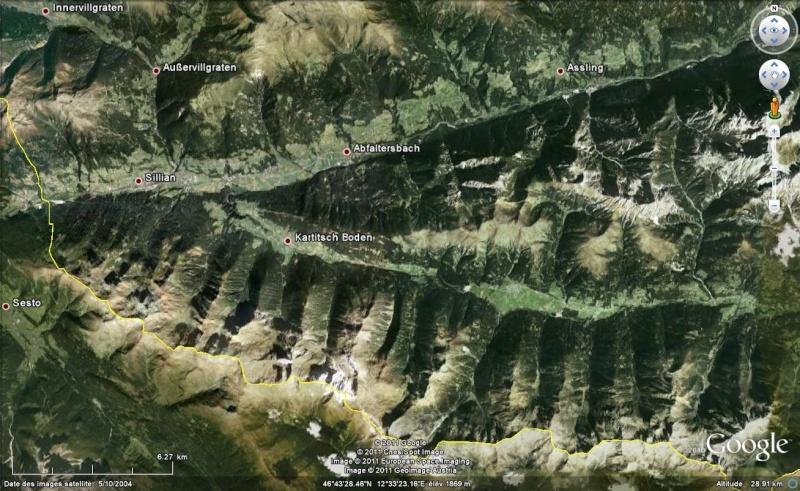 Le Grand Kinigat et le Rosskopf : sommets à vendre dans les Alpes Autrichiennes Kartit10