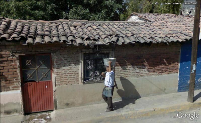 STREET VIEW : on comprend pourquoi le seau ...., Mexique Sceau10