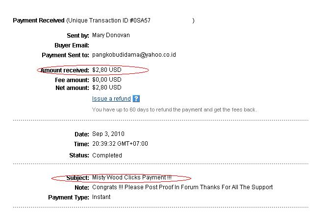 1st payment guys Mystic10