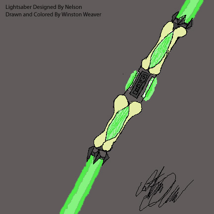 Finished Lightsabers Nelson13