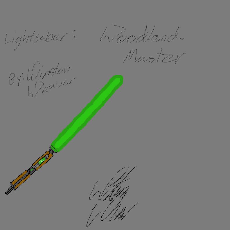 Finished Lightsabers Woodla10