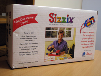 BRAND NEW IN BOX sizzix machine Siz-ma10