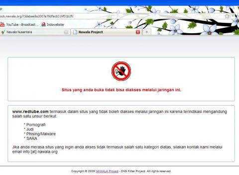 """Nawala Nusantara """"blok situs Pornografi, Phising dan SARA"""" He374c11"""