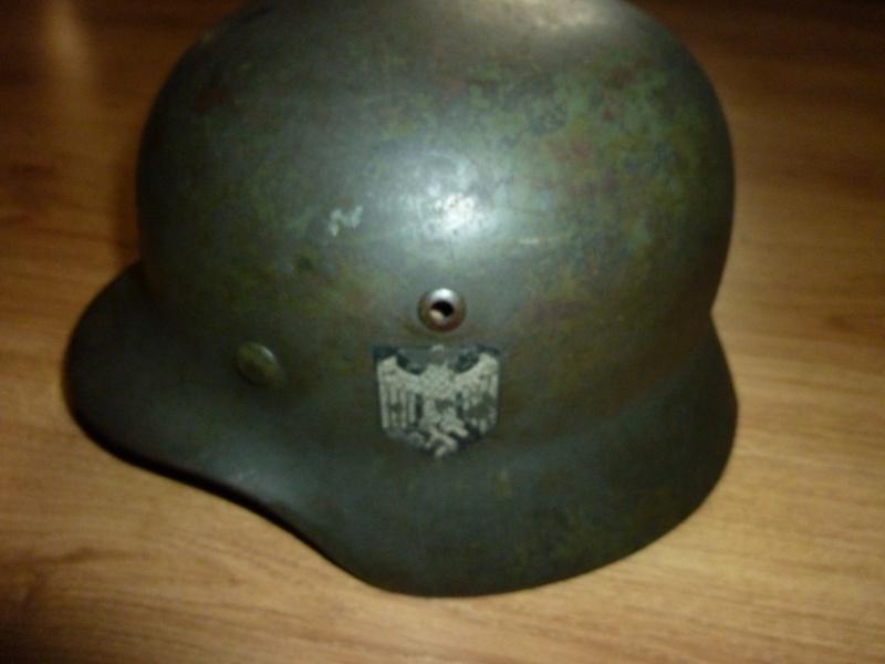 Vos casques allemands WW2... - Page 5 P1000610