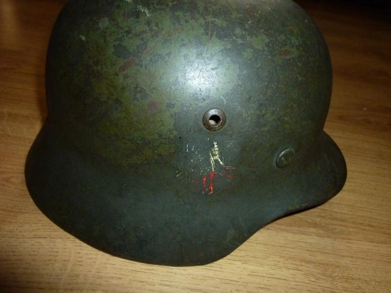 Vos casques allemands WW2... - Page 5 P1000611