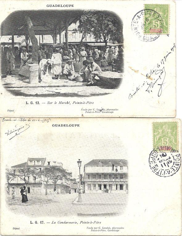 Le pharmacien vendeur de cartes postales Numari12