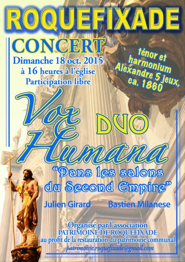 concert à Roquefixade (Ariège) Affich11