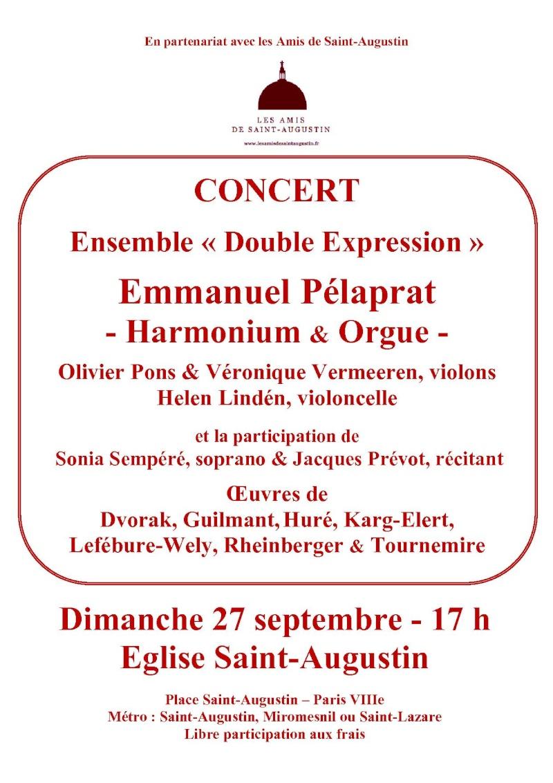 harmonium d'art à Paris Concer10