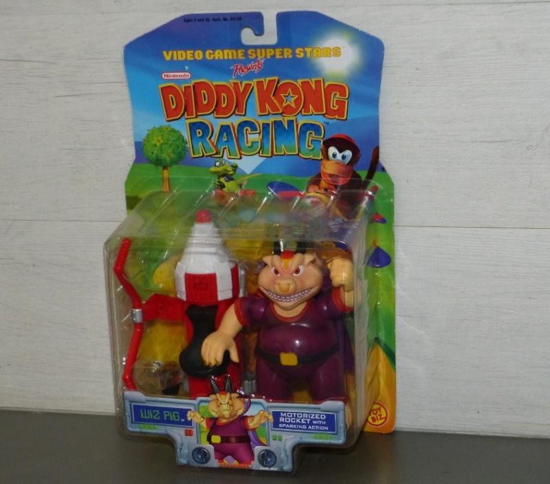 Les figurines DIDDY KONG RACING - NINTENDO - TOY BIZ 1999 Ma0310