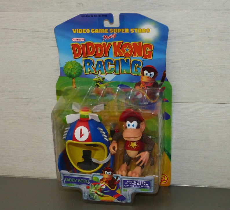 Les figurines DIDDY KONG RACING - NINTENDO - TOY BIZ 1999 Ma0410