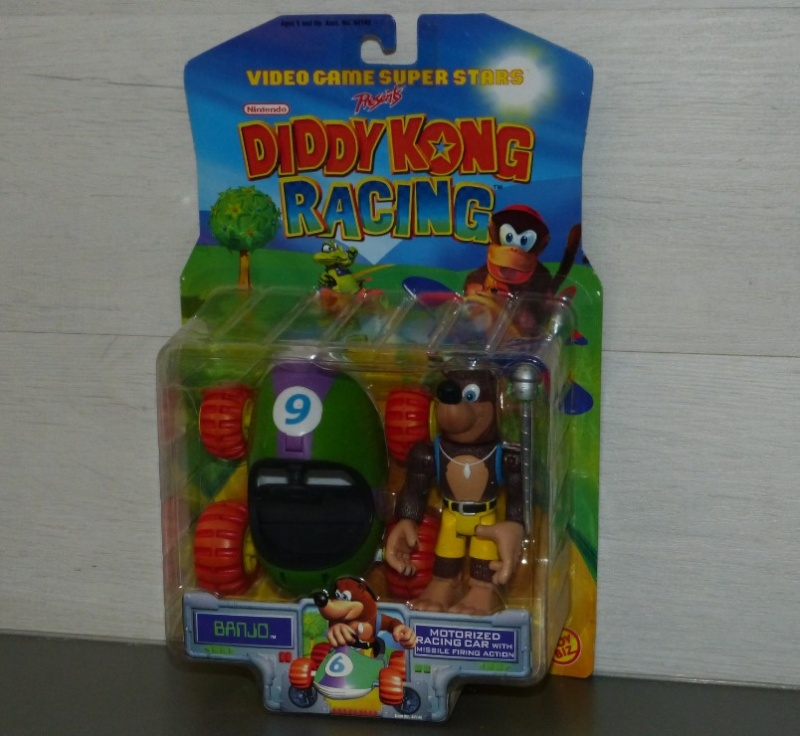 Les figurines DIDDY KONG RACING - NINTENDO - TOY BIZ 1999 Ma0510