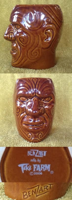 tiki mugs, Hawaiian style, including tiki farm and Studio Ceramics Tikis211