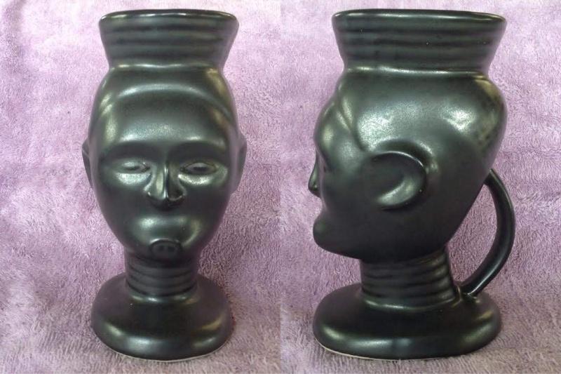 tiki mugs, Hawaiian style, including tiki farm and Studio Ceramics Tikis410