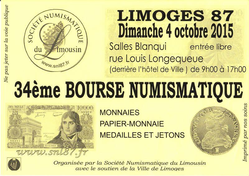 Bourse Numismatique à Limoges, 4 octobre 2015 Bourse11