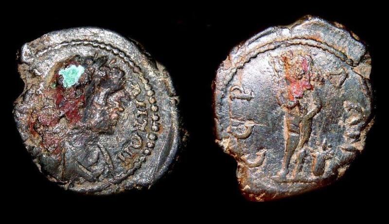 Deux assarions de Caracalla, Serdica 9122a210