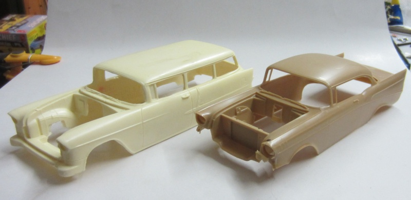 #7 : chevrolet 1957 150 station wagon Mustan12
